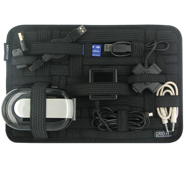 Medium Rectangular GRID-IT! Organizer Black