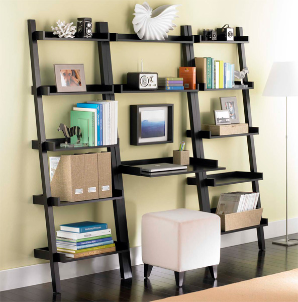 Linea Leaning Desk Bookcases Solution Java