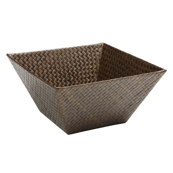 Medium Square Pandan Basket Java