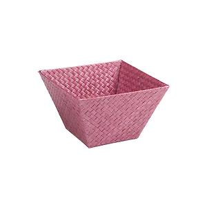 Small Square Pandan Basket Purple