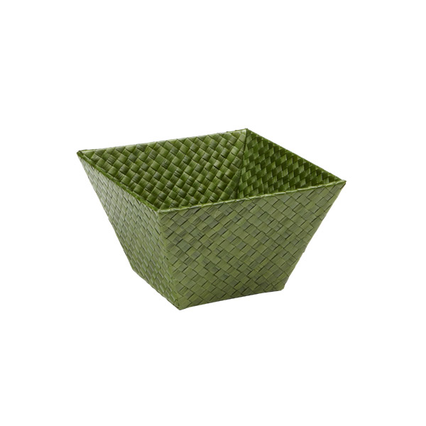 Small Square Pandan Basket Fern