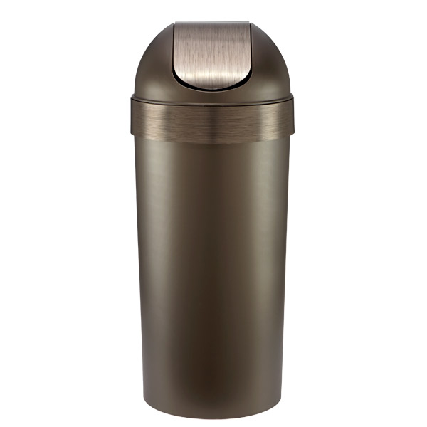 Umbra® 16.5 gal. Venti Can Pewter