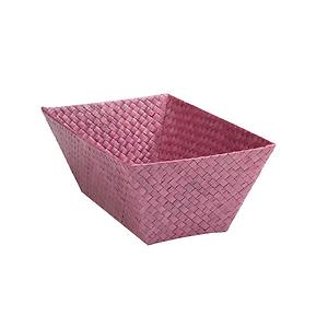 Small Rectangular Pandan Basket Purple