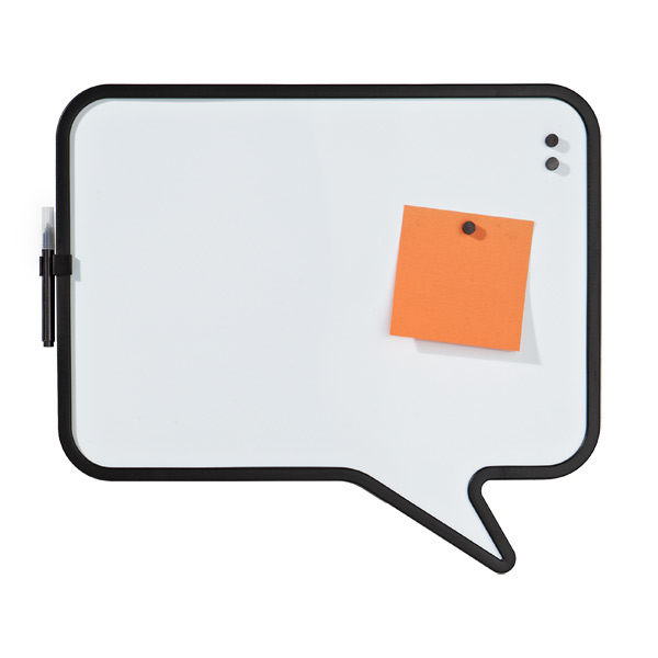 Umbra® Talk Bubble Magnetic Board White