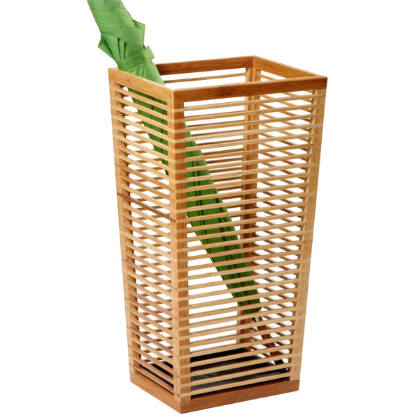 Bamboo Umbrella Stand   The Container Store
