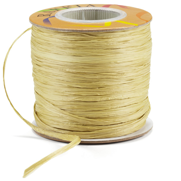 Raffia Ribbon Matte Willow