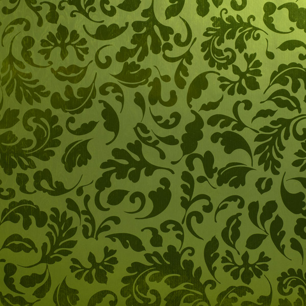 Brocade Wrap Green
