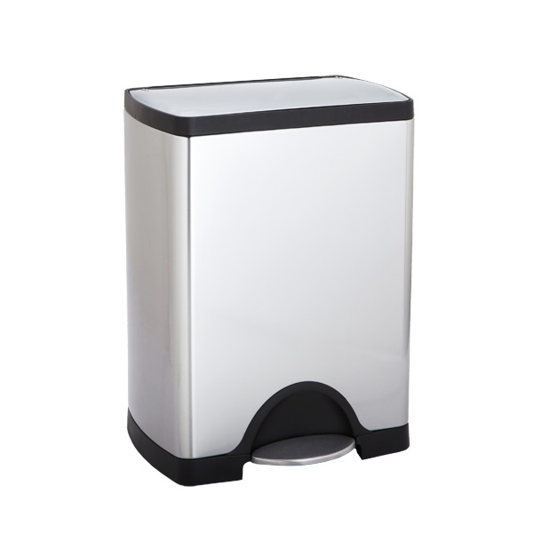 simplehuman 8 gal. Rectangular Step Can Stainless