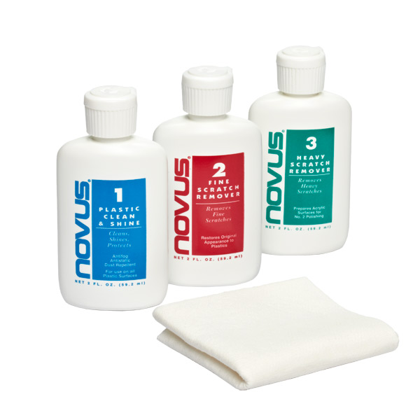 2 oz. Novus® Plastic Polish Set
