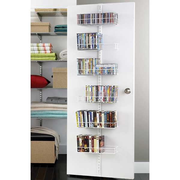 elfa Door & Wall Media Rack White
