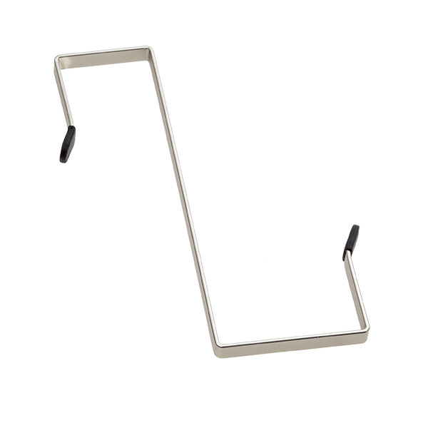 Over-the-Cubicle Hook Silver