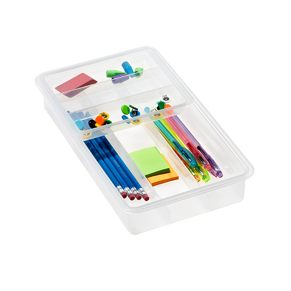 Medium Sliding Drawer Organizer Translucent