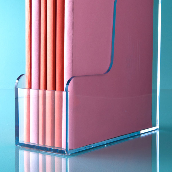 Clear Plastic Magazine Holders