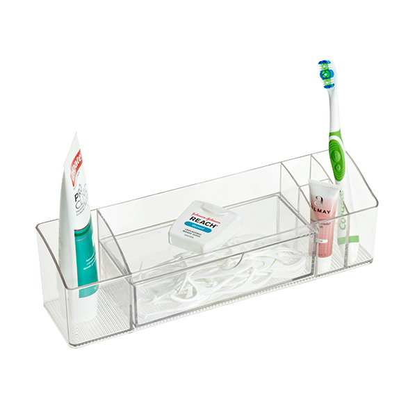 Linus™ Cabinet Organizer w/ Drawer Clear