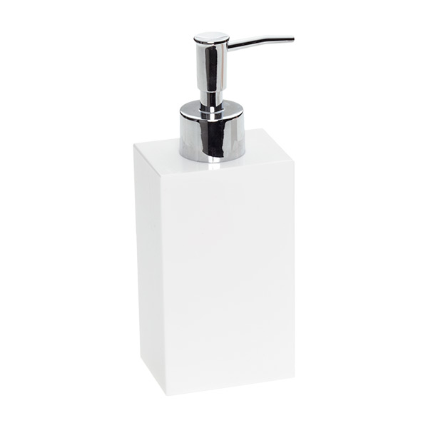 7.4 oz. Deco Pump Dispenser White
