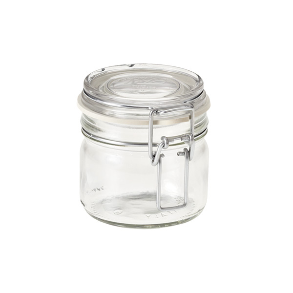 hermetic storage jar 229 ml - Glass Containers With Lids