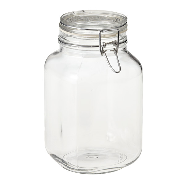 Bormioli Hermetic Glass Storage Jars