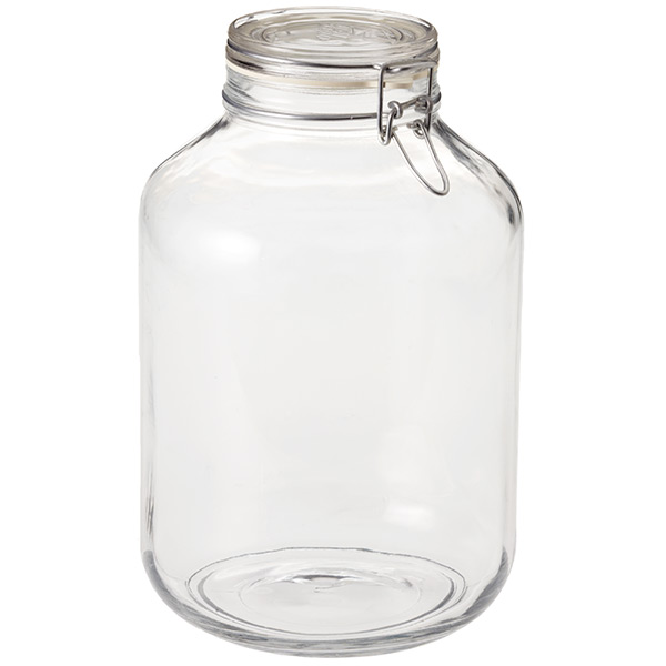 hermetic storage jar 5 ltr - Glass Containers With Lids
