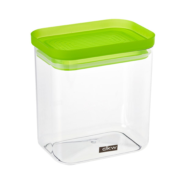Rectangle Canister Green Lid ...