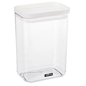 52 oz. Rectangle Canister Translucent  Lid