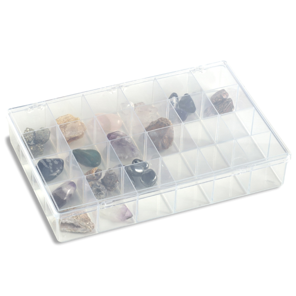 24-Compartment Unbreakable Box