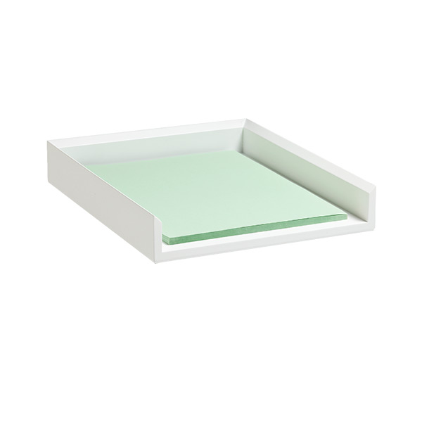 Letter trays paper trays paper sorters the container for White stackable letter trays