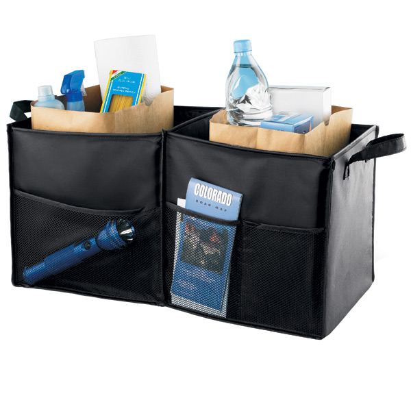 Folding Trunk Organizer Black