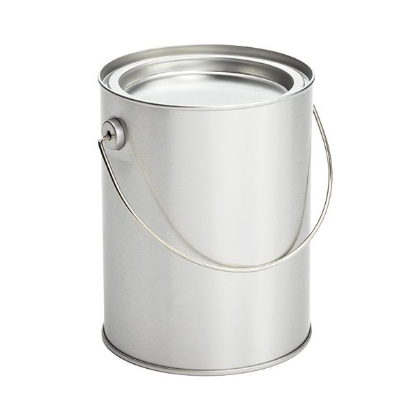 Paint Silvers: Miniature Silver Paint Cans