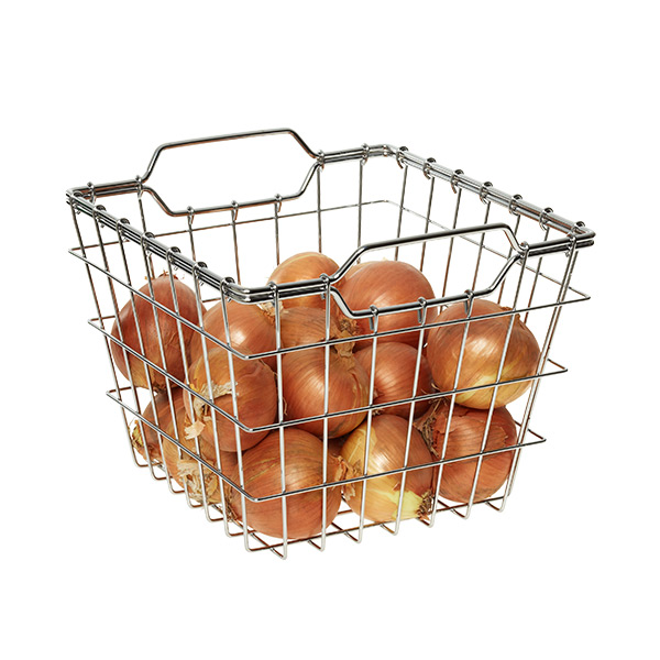 Wire Storage Basket Chrome