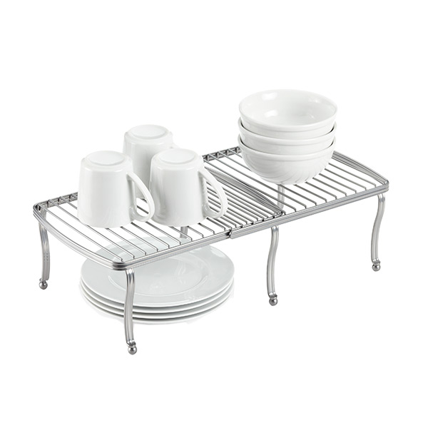 York Expandable Shelf Silver