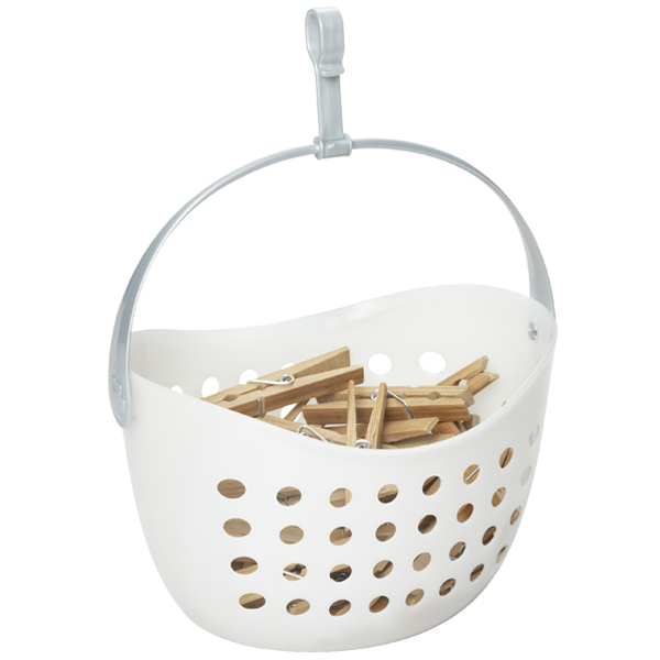 Clothespin Caddy Translucent
