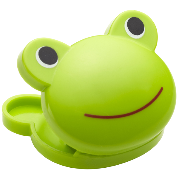 Frog Bag Clips Green Pkg/6