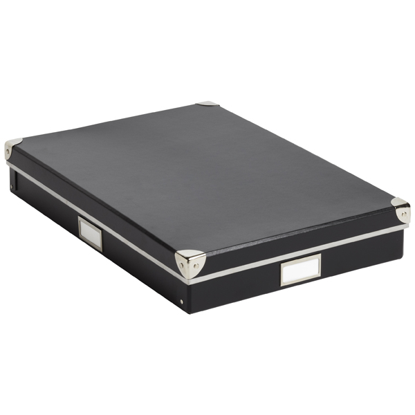 Art Storage Box Black