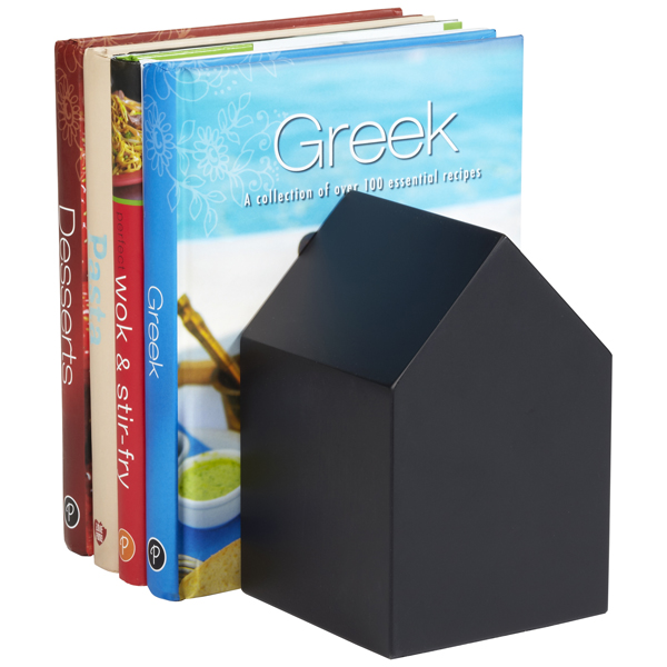 House Bookend Black