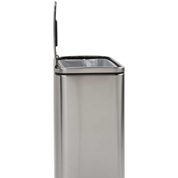 simplehuman® 10 gal. Steel Bar Step Can