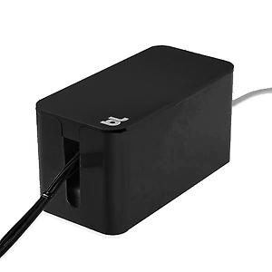 Mini CableBox with Power Strip Black