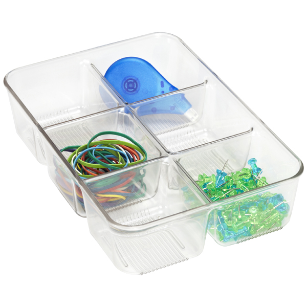 Linus desk drawer organizer the container store - Desk drawer organizer ...
