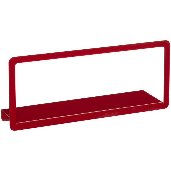Umbra® Simple Long Display Shelf Red