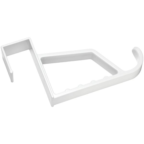 Overdoor Hanger Holder White