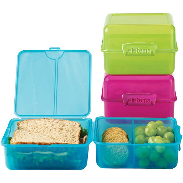 Sistema Klip It Cube To Go Bento Lunch