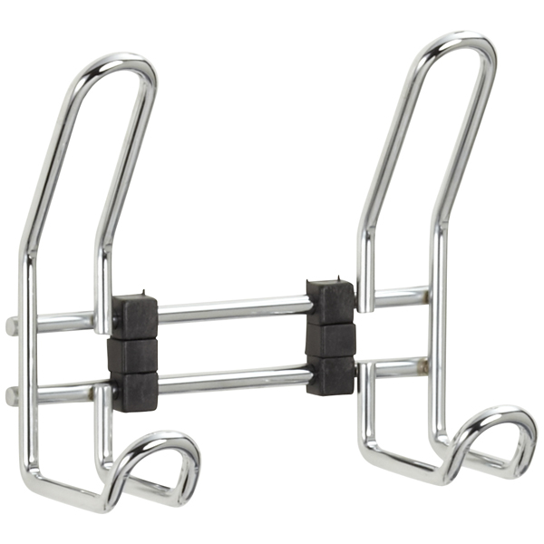 Scala 2-Hook Rack Chrome