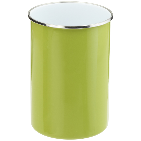 2 qt. Enamel Utensil Holder Green