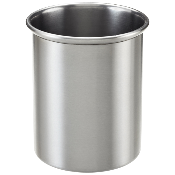 2 qt. Utensil Holder Brushed Stainless