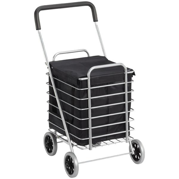 Aluminum Shopping Cart & Liner   The Container Store