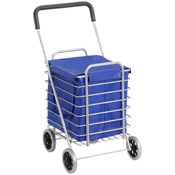 Aluminum Cart Nylon Liner Blue