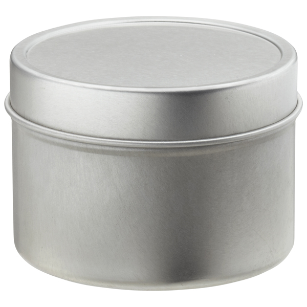 4 oz. Seamless Tin Silver