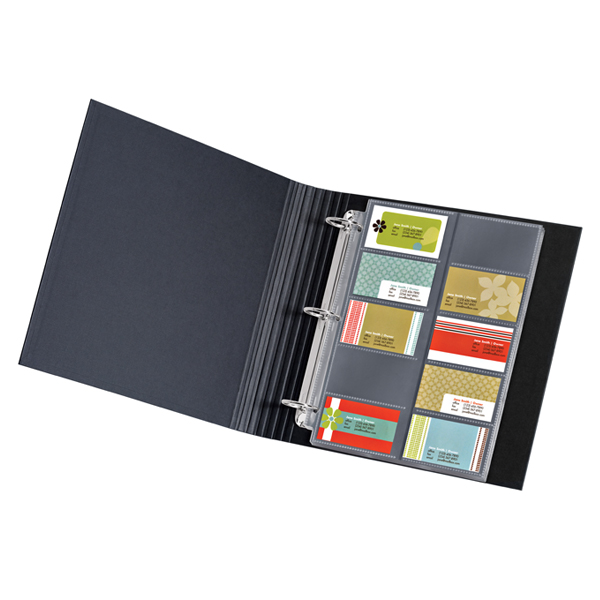 Business Card Pages Pkg/10