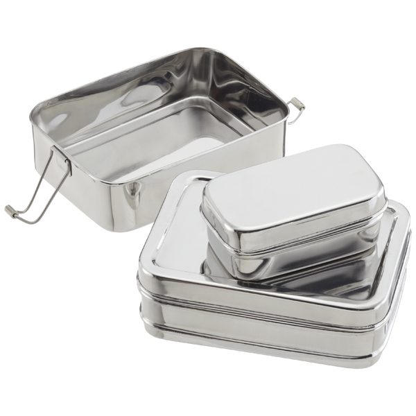 Three-in-One ECOlunchbox Stainless