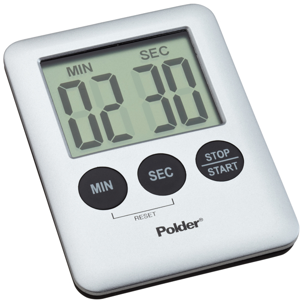 Mini Digital Timer Silver