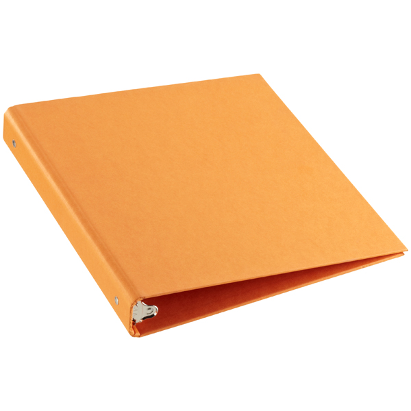 "1"" Stockholm Binder Orange"